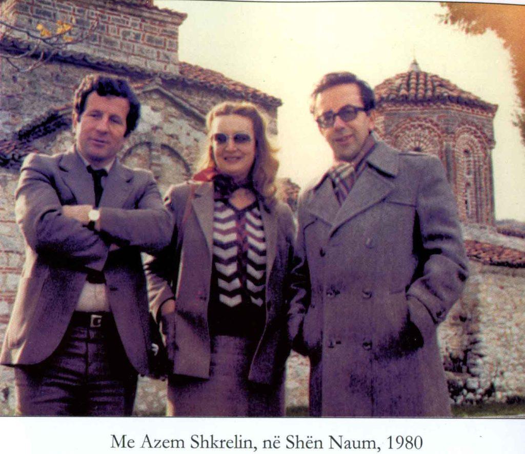 Azem Shkreli, Helena dhe Ismail Kadare