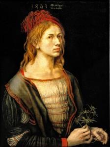 Albrecht DURER Autoportret
