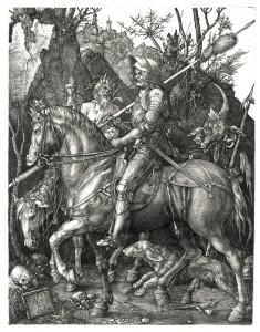 Kalorësi, vdekja dhe djalli Albrecht Dürer