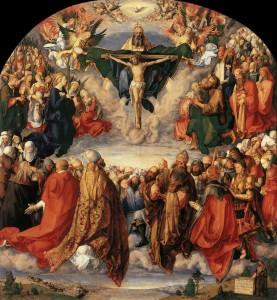 Adhurimi i Trinis Shenjt (1511) Albrecht Durer