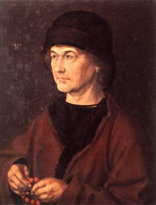 Portreti i Albrecht Dürer i Vjetri, (rreth vitit 1490)