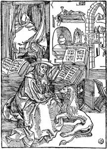Ballina për Letrat e shën Jeronimit, 1492
