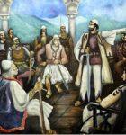 2 MARS 1444/ Atëmotin e besëlidhjes së kryezotëve të Arbrit, fjala e Skënderbeut në Kuvendin e Lezhës, sipas Marin Barletit
