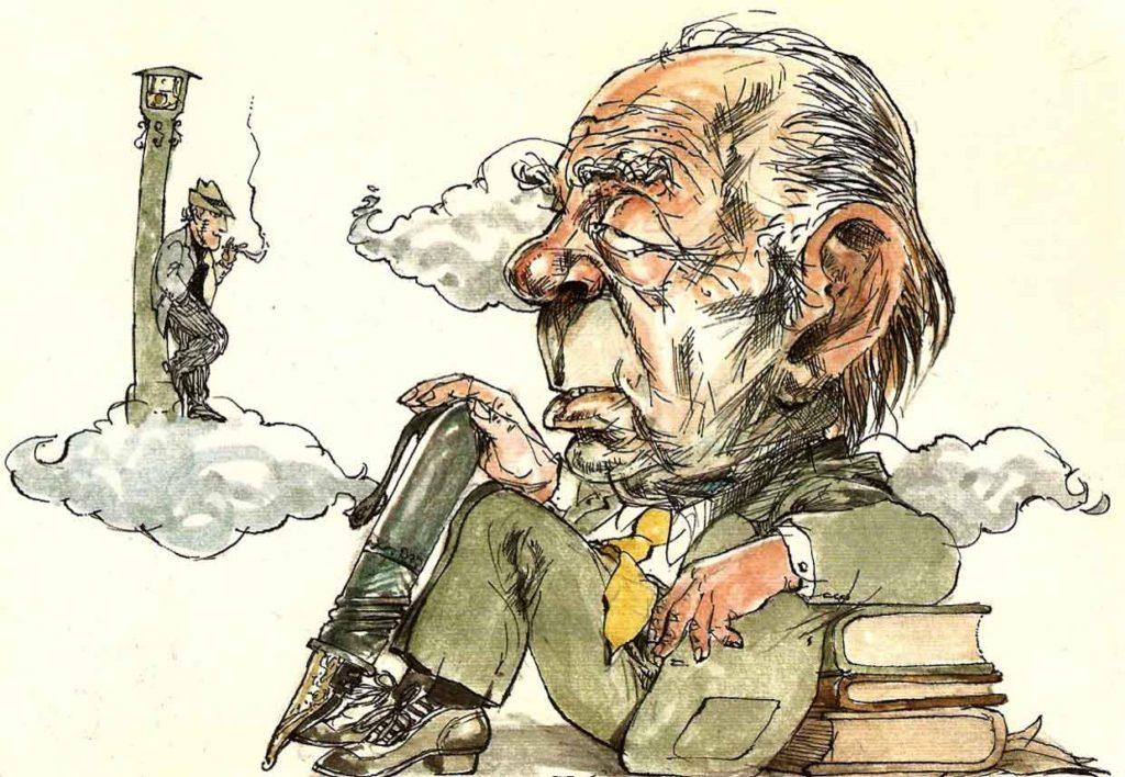 Jorge Luis Borges: Ndër instrumentet e shumtë të njeriut, më i mahnitshmi, pa dyshim është libri, ai është zgjatim i kujtesës dhe imagjinatës