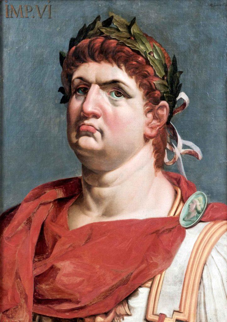 Lutius Domitius Ahenobarbus Nero Claudius Caesar, i njohur si Neron,Perandor romak
