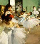 Poetika e linjave dhe shkujdesjes në tablotë e impresionistit francez, Edgar Degas