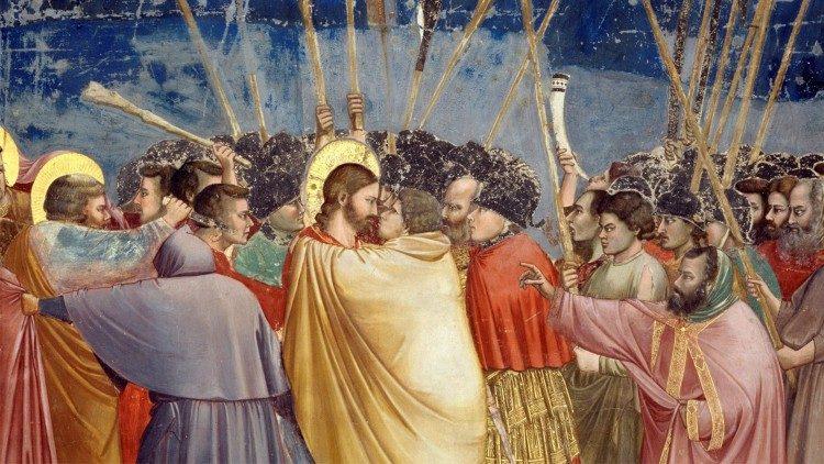 Puthja e Judës, Kapela Scrovegni, Padovë