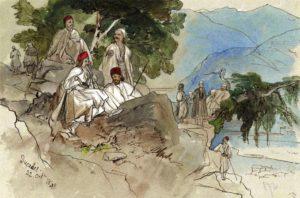 Edward Lear, britaniku qe skicoi mrekullite e natyres dhe jetes shqiptare te shekulllit XIX